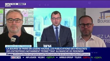 Le Match des traders : Jean-Louis Cussac vs Romain Daubry - 19/10