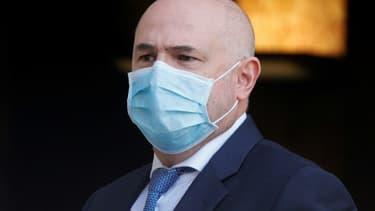 Le secrétaire d'État chargé de la Santé au travail, Laurent Pietraszewski, en octobre 2020 à Paris