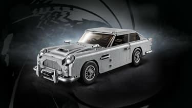 La DB5 de James Bond a aussi droit désormais à sa version Lego