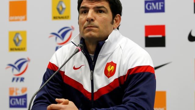 Marc Lièvremont, sélectionneur de l'équipe de France