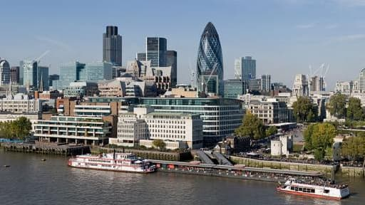 La City de Londres compte une soixantaine d'entreprises cotées russes.
