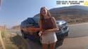 Les images de la caméra embarquée d'un officier de l'Utah intervenu pour la dispute entre Gabrielle Petito et Brian Laundry, le 12 août 2021.