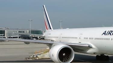 Un Boeing 777 d'Air France à Roissy-CDG. (Illustration)