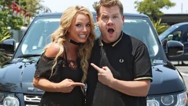 Britney Spears et James Corden