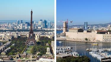 Paris et Marseille sont les villes les plus mal jugées par les Français en terme de sécurité et de cadre de vie