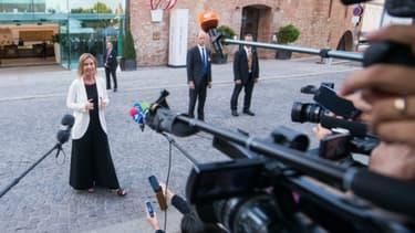 Federica Mogherini chef de la diplomatie de l'UE à Vienne, le 28 juin 2015