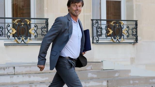 Le ministre de la Transition écologique et solidaire, Nicolas Hulot (image d'illustration)