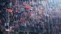 Les supporters de l'Ajax à Valence