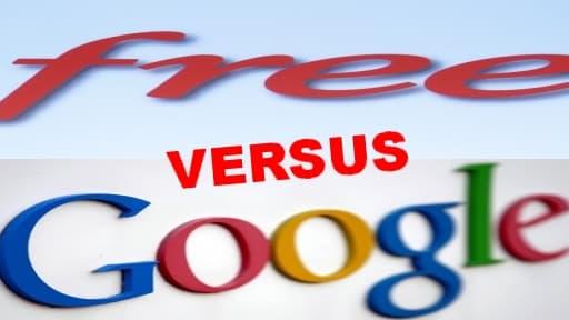 En supprimant la publicité sur internet, Free attaque clairement Google et les autres géants du web.