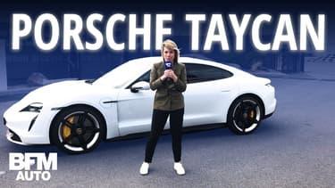 Porsche Taycan, l'électrique la plus chère du marché