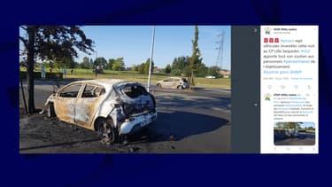 Des voitures ont été incendiées sur le parking de la maison d'arrêt
