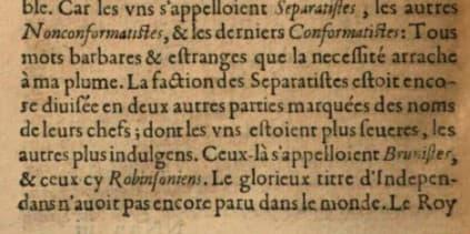 Capture d'écran de L'Apologie de Charles Ier