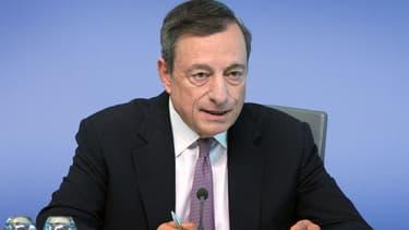 Le président de la BCE Mario Draghi