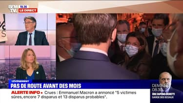 Emmanuel Macron face à la douleur des sinistrés (2/4) - 07/10