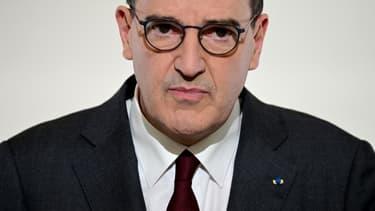 Jean Castex le 18 mars 2021 à Paris.