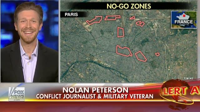 Nolan Peterson parle de zones interdites aux non-musulmans en France