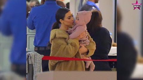 North West, la fille du couple Kardashian-West, a déjà des journées bien chargées