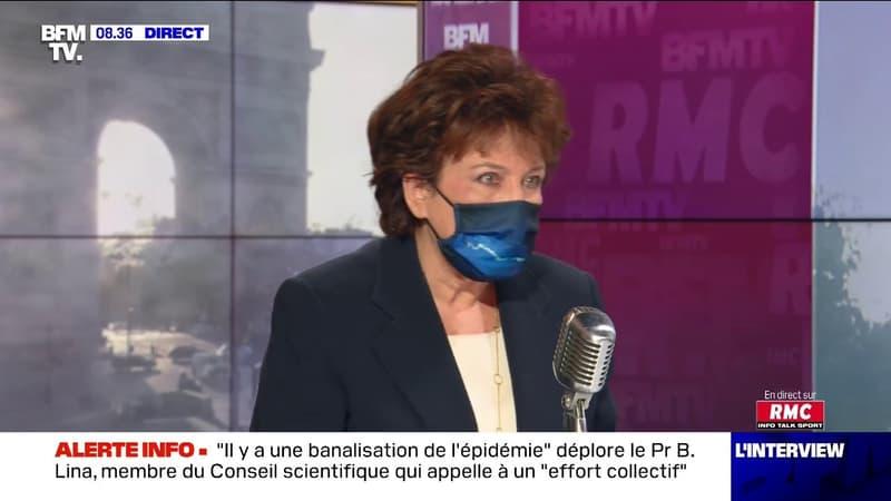 """Roselyne Bachelot: """"Il n'y a aucune lutte contre les musulmans français, il y a simplement une lutte contre l'islamisme et le terrorisme"""""""