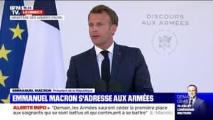 """Emmanuel Macron: la cérémonie du 14 juillet """"sera le symbole de la capacité des Français à affronter les épreuves"""""""