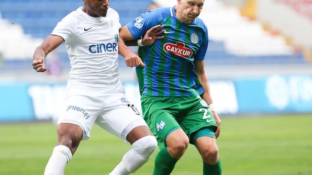Milan Skoda (à droite) - Rizespor