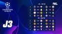 Ligue des champions : Tous les résultats de la J3 et les classements
