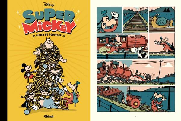 Super Mickey par Pieter de Poortere