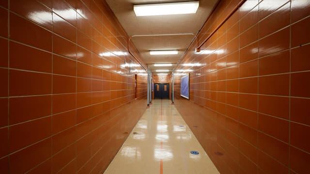 Les murs d'un collège, à New York (PHOTO D'ILLUSTRATION)