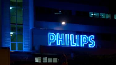 La plateforme parisienne de Philips n'est pas concernée par ces mesures.