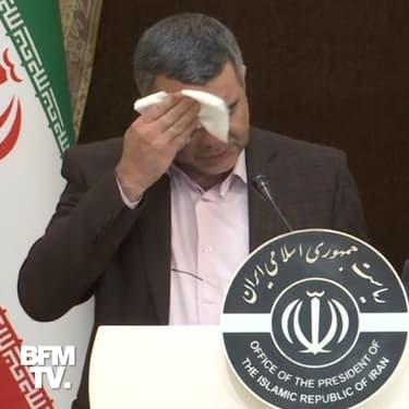 Après être apparu mal en point, le vice-ministre de la Santé iranien annonce sa contamination au coronavirus