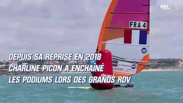 Mondiaux de voile : La belle médaille de bronze de Charline Picon en planche RS:X