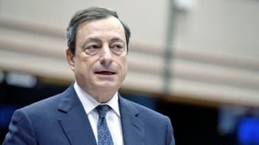 Mario Draghi est resté optimiste sur la conjoncture, ce jeudi 2 mai