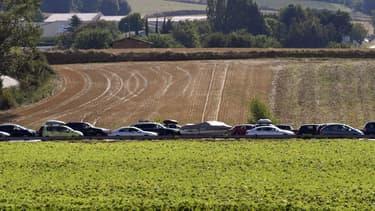 La Nationale qui relie Limoges à Poitiers est très encombrée et freine le développement économique de la région  (image d'illustration) .