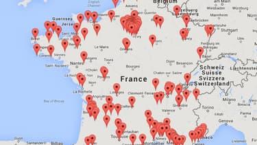Cette carte interactive répertorie plus de 200 condamnations judiciaires pour corruption en France.