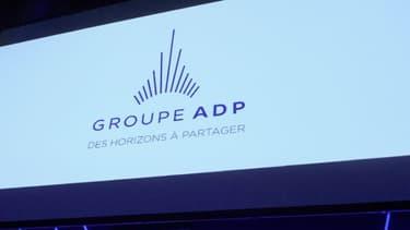 Logo du groupe ADP.