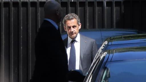 L'ancien président de la République Nicolas Sarkozy, le 2 juillet 2014 à Paris.
