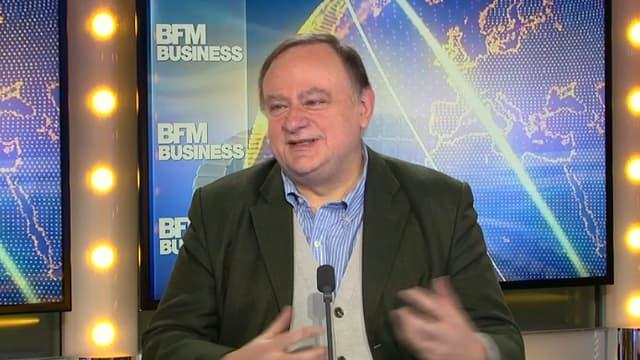 Jean-Marc Daniel, économiste, dans Good Morning Business ce vendredi.
