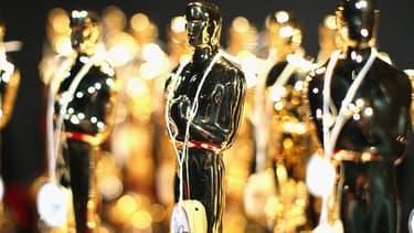 Les précieuses statuettes des Oscars américains.