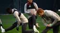 Firmino à l'entraînement avec les Reds de Liverpool