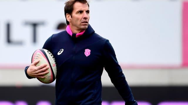 Gonzalo Quesada, l'entraîneur du Stade Français