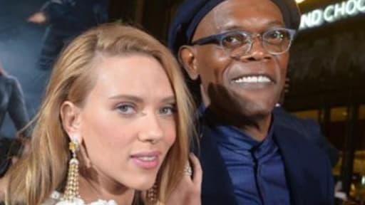 Scarlett Johansson et Samuel L. Jackson.