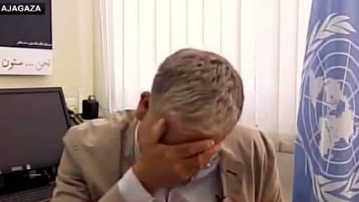 """""""Les droits des Palestiniens, et même leurs enfants, sont totalement bafoués et c'est épouvantable"""", a dénoncé Chris Gunness."""