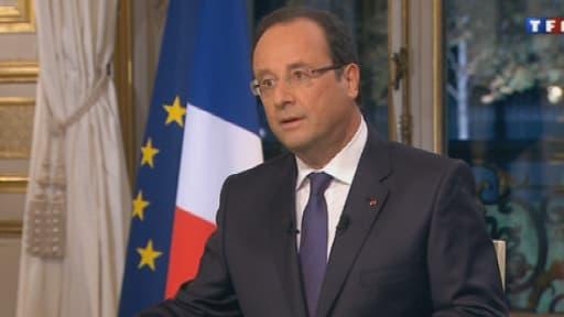 François Hollande s'est exprimé lors du journal élévisé de TF1, dimanche 15 septembre.
