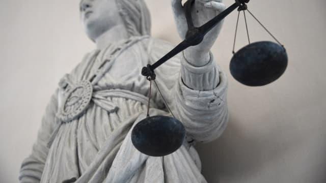 Une balance de la justice. (photo d'illustration)