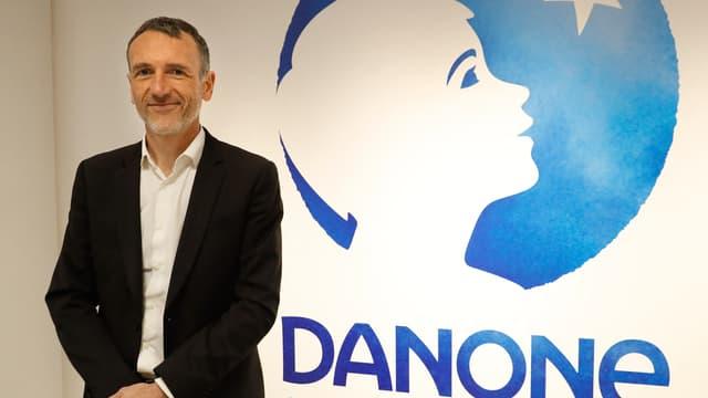 Emmanuel Faber était directeur général de Danone depuis 2014 et PDG depuis 2017