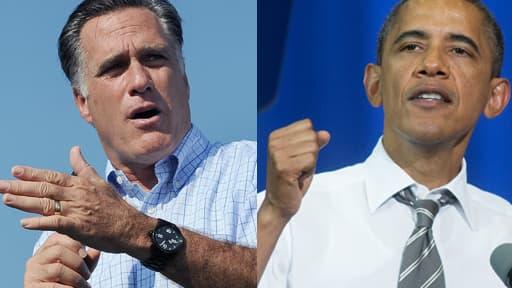 Mitt Romney rattrape inexorablement Barack Obama dans les sondages