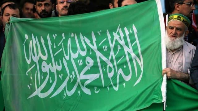 Le drapeau du Hamas, image d'illustration.