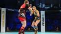 Deux combattantes opposées lors des Mondiaux amateurs de MMA en 2019