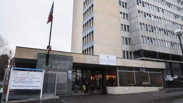 L'hôpital de la Pitié-Salpêtrière