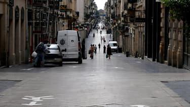 La rue Sainte Catherine, à Bordeaux.