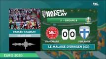 Euro 2020 : Le goal replay de Danemark - Finlande (0-1)
